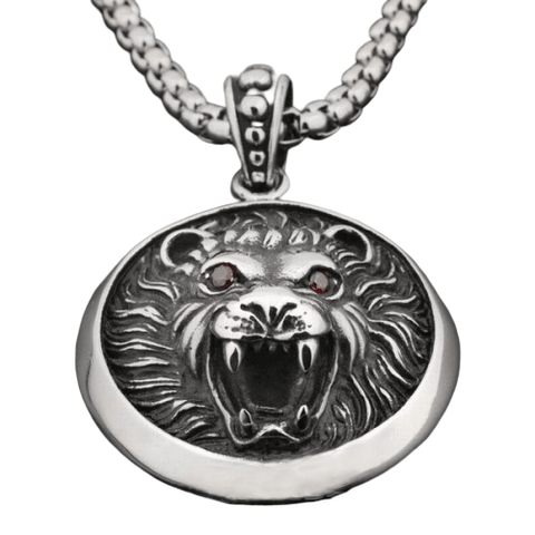tete de lion collier