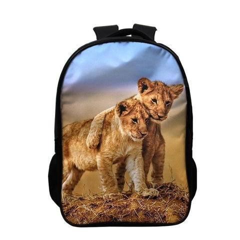 Sac a Dos Lion Amour Fraternel