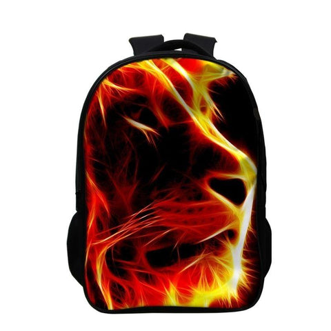 Sac a Dos Lion art flamboyant