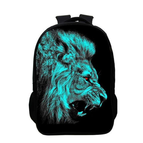 Sac a Dos Lion felin sanguinaire