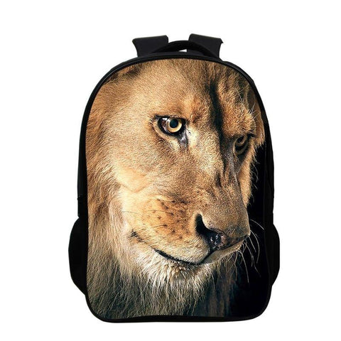 Sac a Dos Lion regard percant