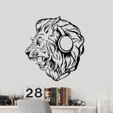 Stickers Lion Casque