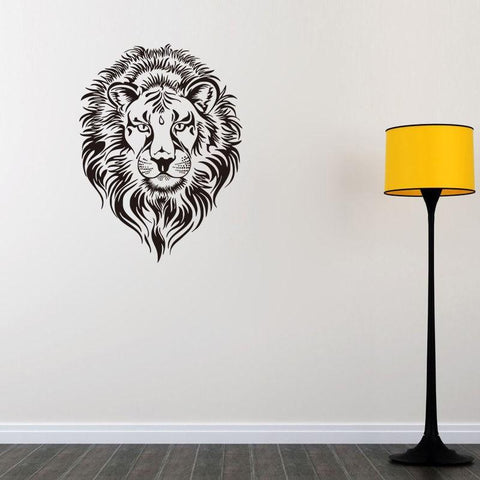 Stickers Lion Gardien des Animaux