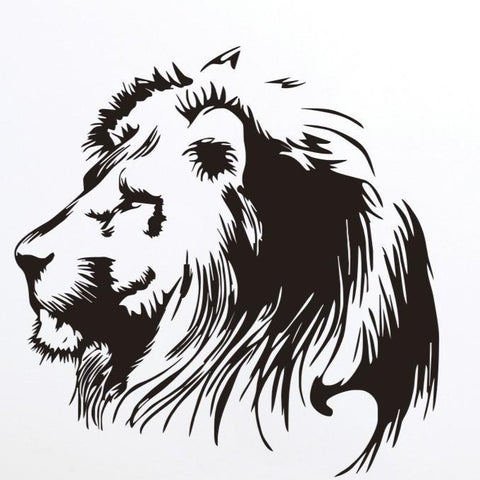 grand stickers lion.