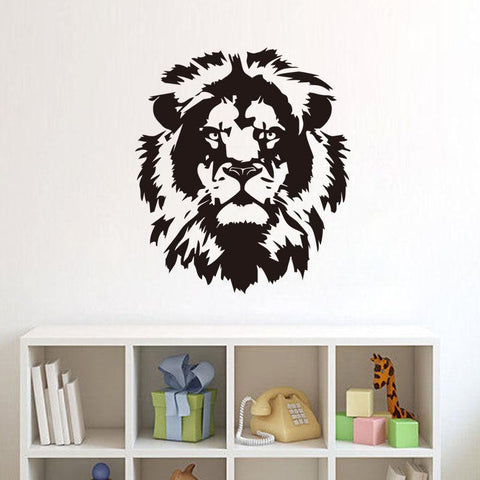 stickers tete de lion