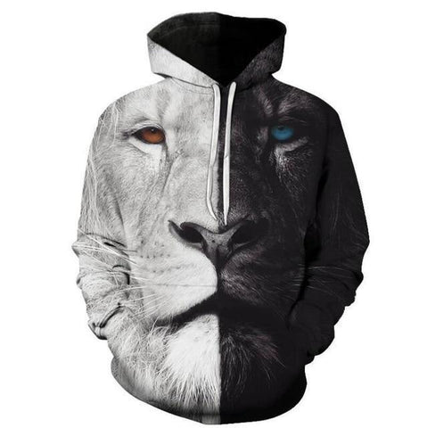 Sweat Lion Double Face