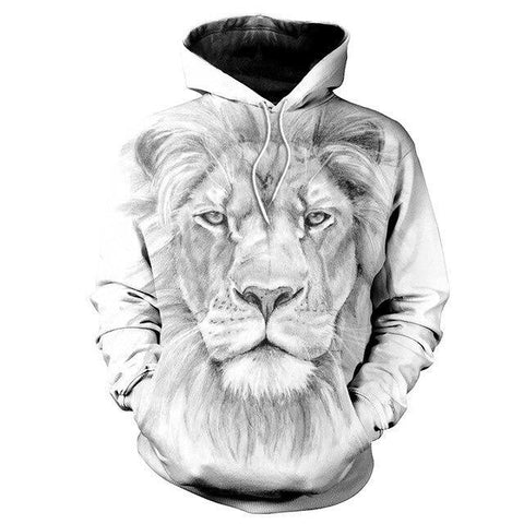 Sweat Lion Monochrome
