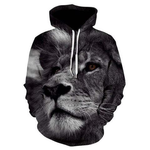 Sweat Lion Beauté Féline