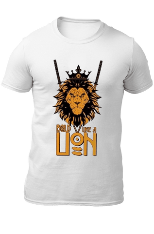 T-Shirt Lion Bold Like a Lion