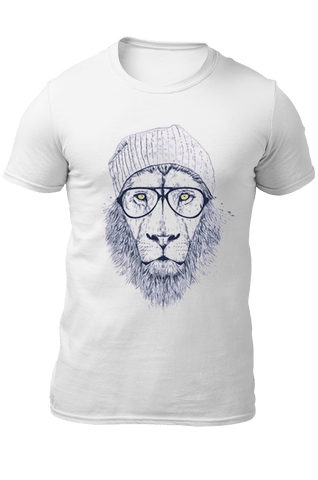t shirt cool lion