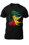 T-Shirt Lion Design Rasta