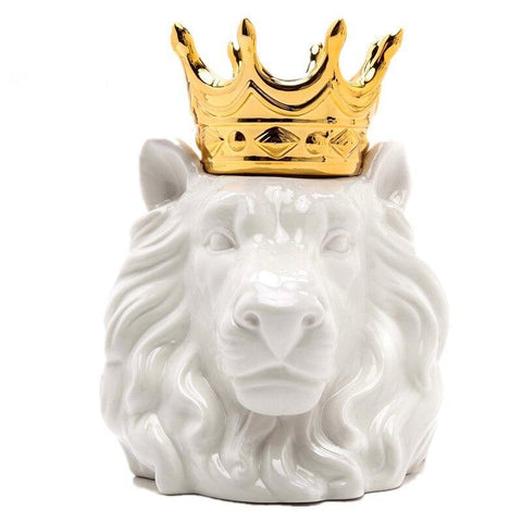Statue Lion Royale