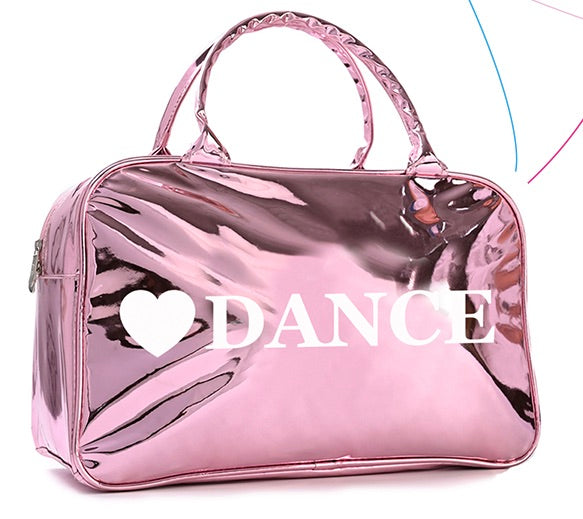 Shiny Pink DANCE Bag