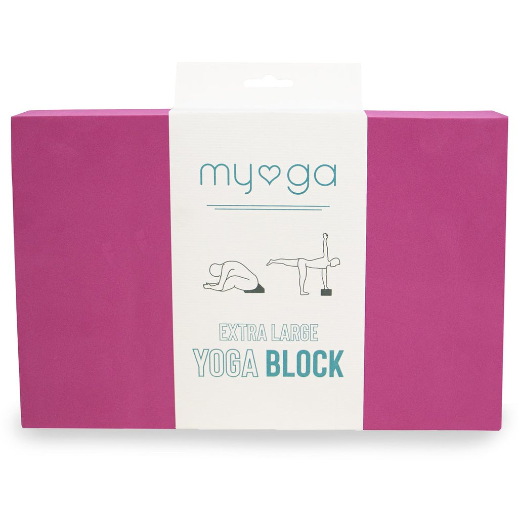 Extra Large Yoga Block Plum