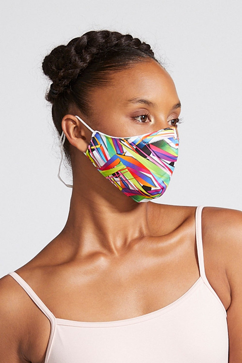 BLOCH Face Mask With Lanyard Shards