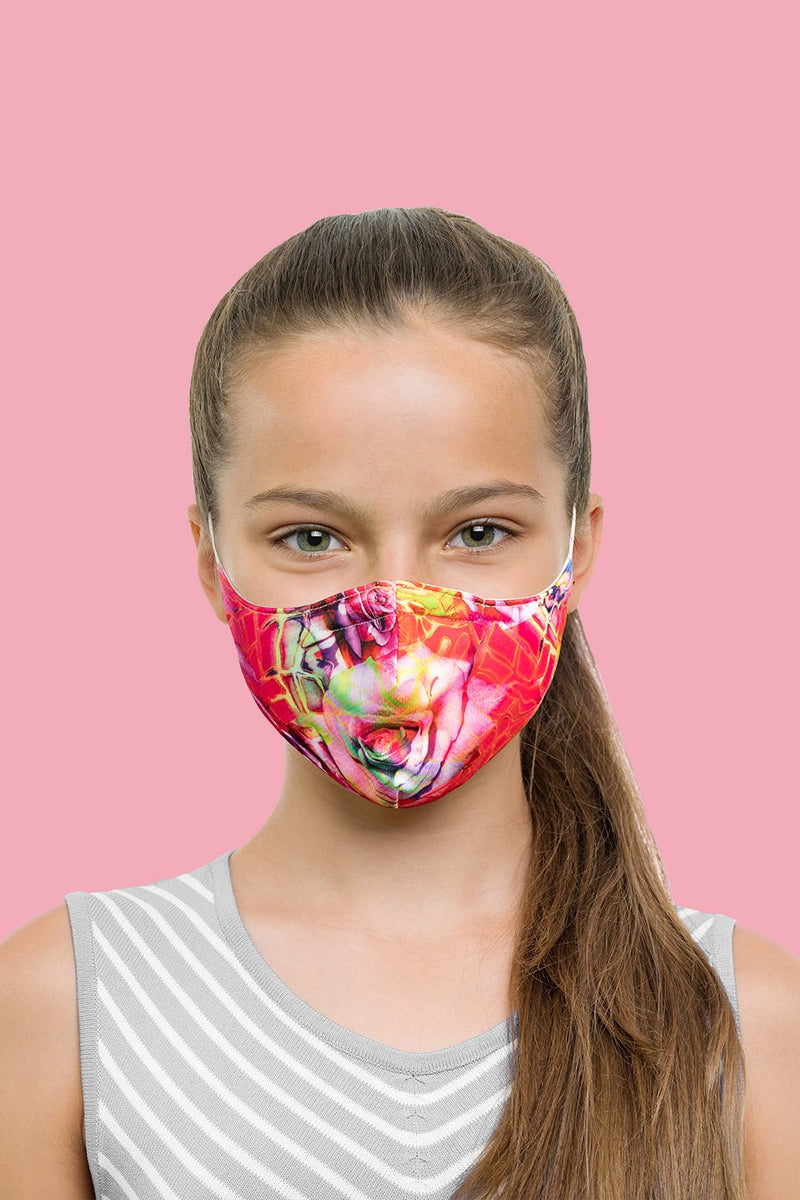 BLOCH Kids Mask With Lanyard Abstract