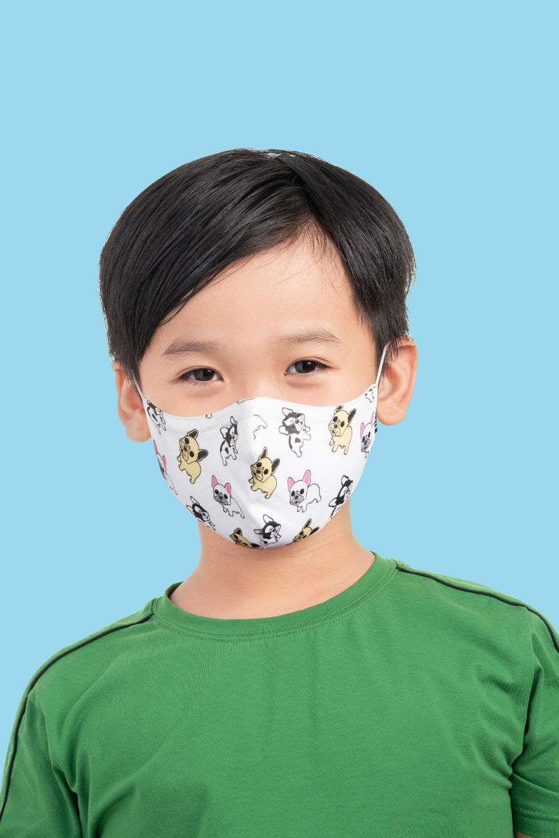 BLOCH Kids Mask With Lanyard Frenchies
