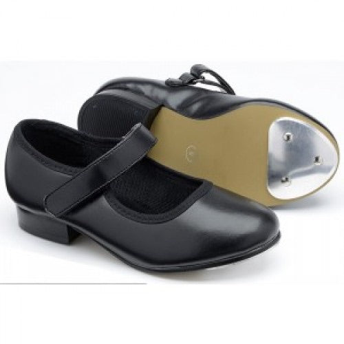 Velcro Tap Shoes Black