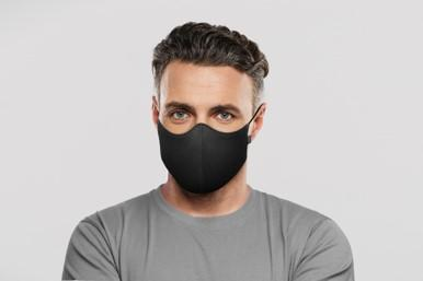 BLOCH Face Mask Adult Black