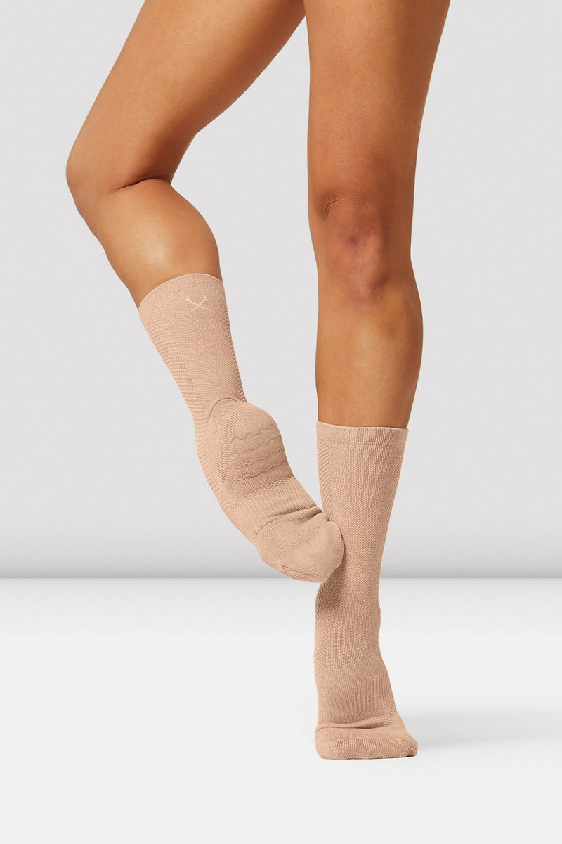 Bloch Socks Nude