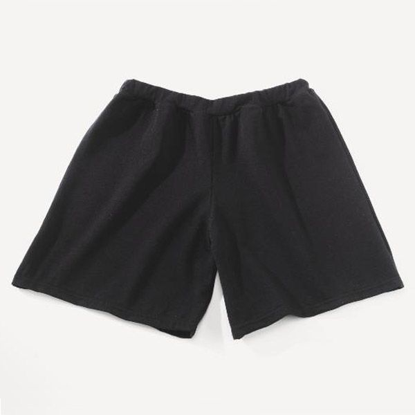 Boys Shorts Cotton Black