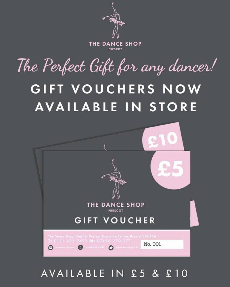 Dance Shop Voucher £10