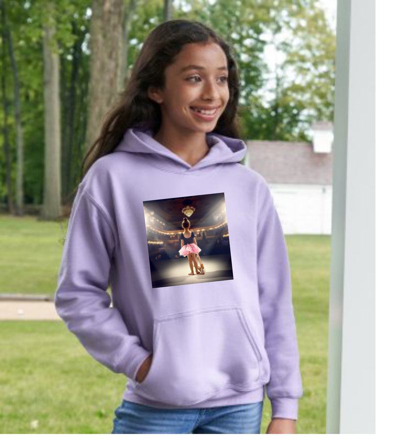 Young Dancer Hoodie Orchidee