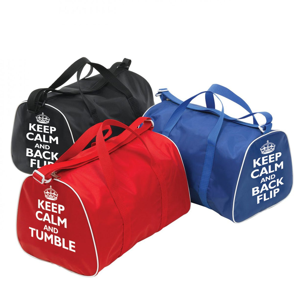 T&P Keep Calm & Tumble Bag Red