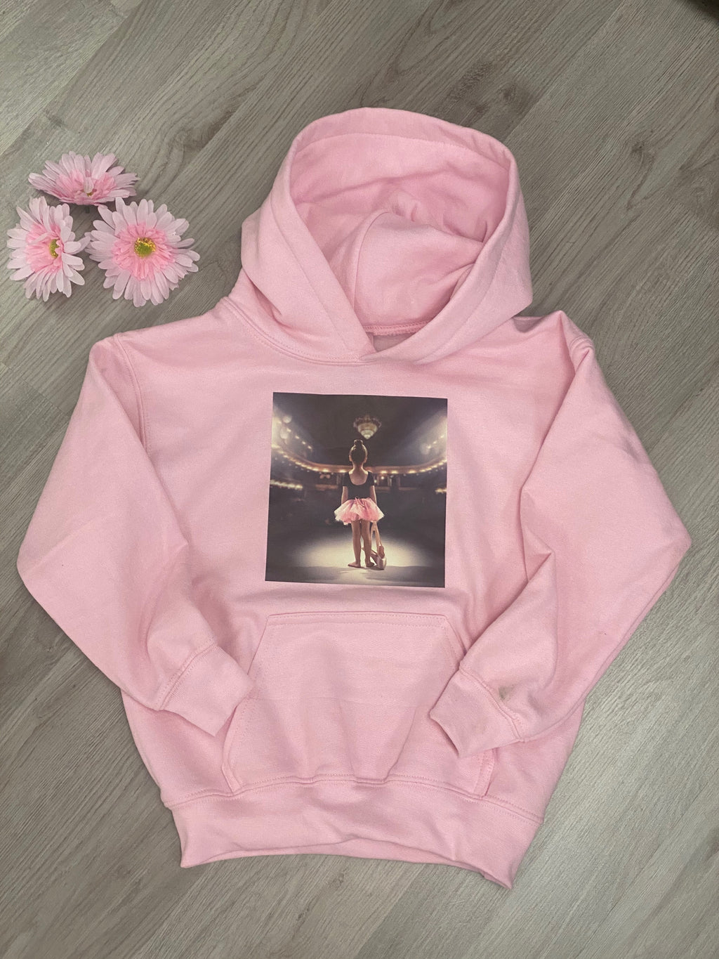 Young Dancer Hoodie Pale Pink