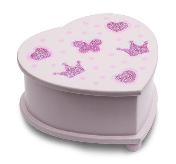 Pink Small Heart Jew Box