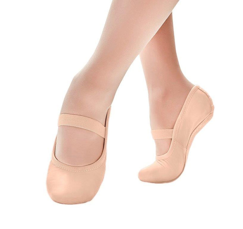 SD69 Full Sole Leather Ballet Shoe PINK