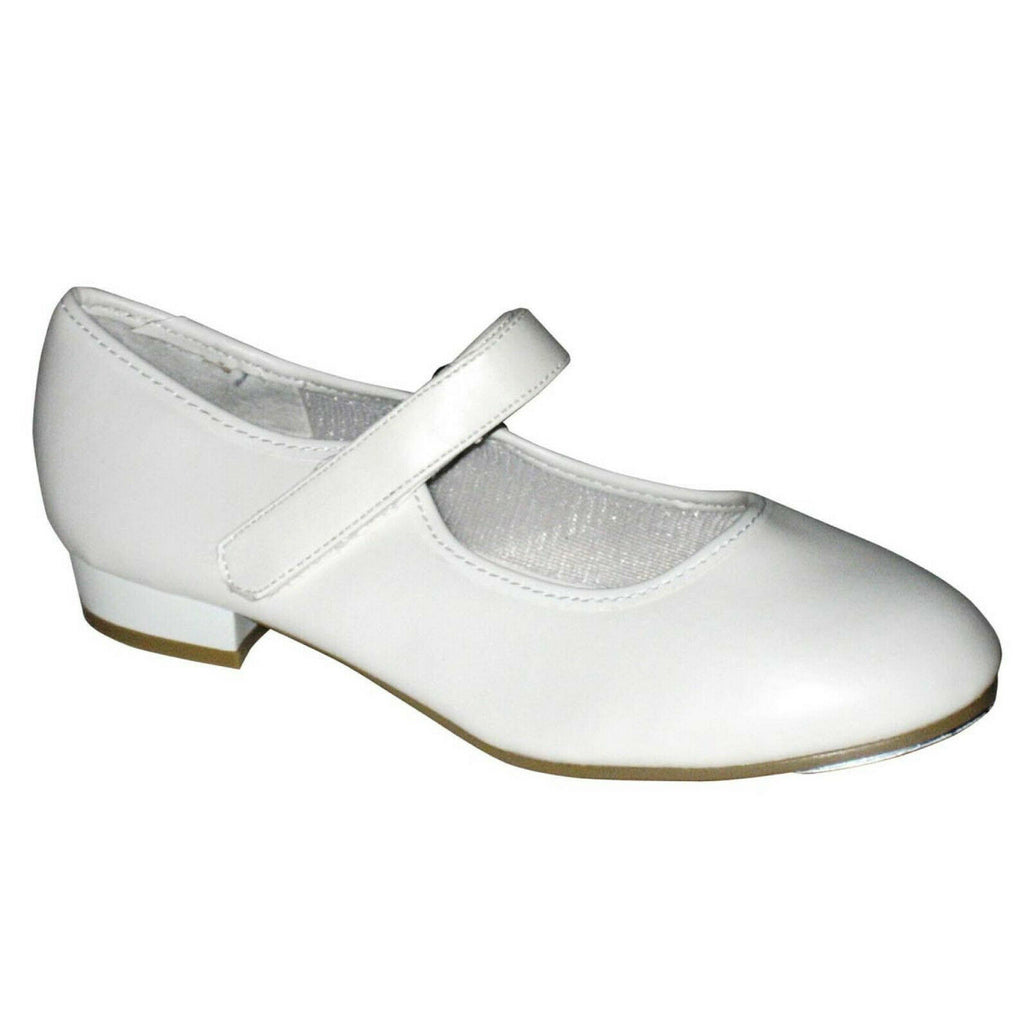 Velcro Tap Shoes White