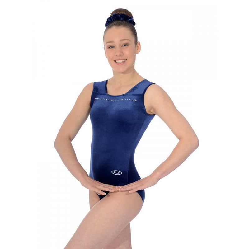 Sparkle SL Gymnastics Leotard NAVY