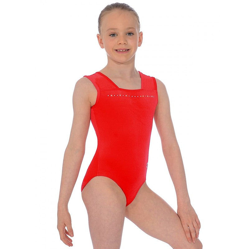 Sparkle SL Gymnastics Leotard RED