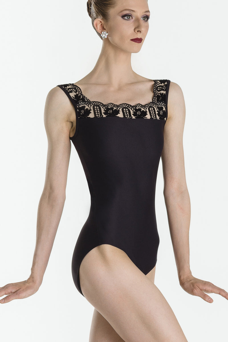 Wear Moi ARLETTY Leotard BLACK
