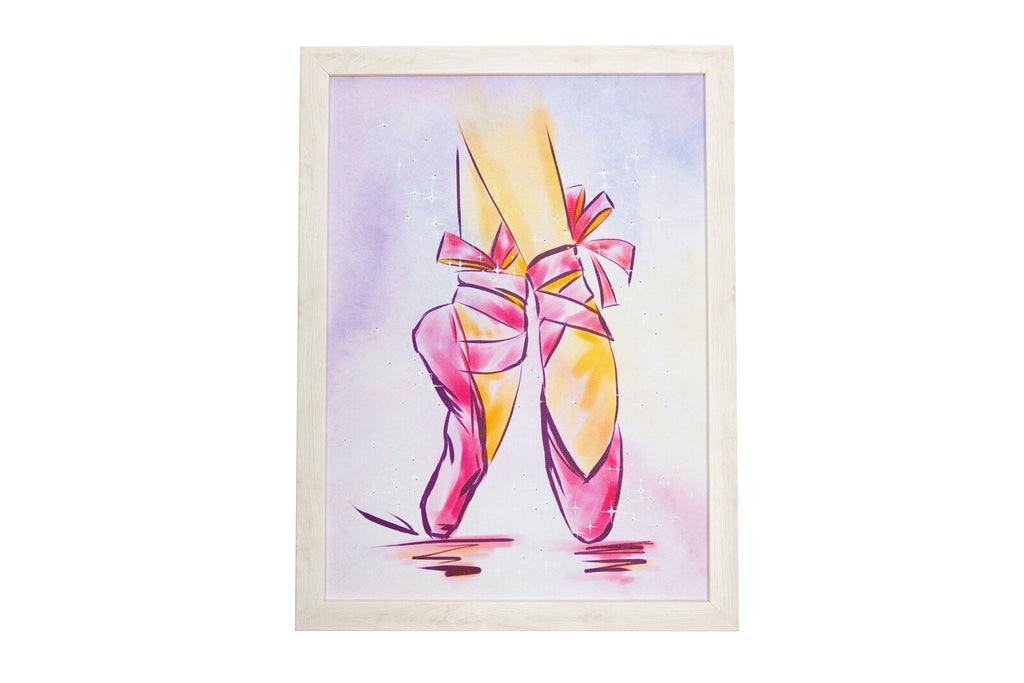 Pointe Shoes Light Up Frame