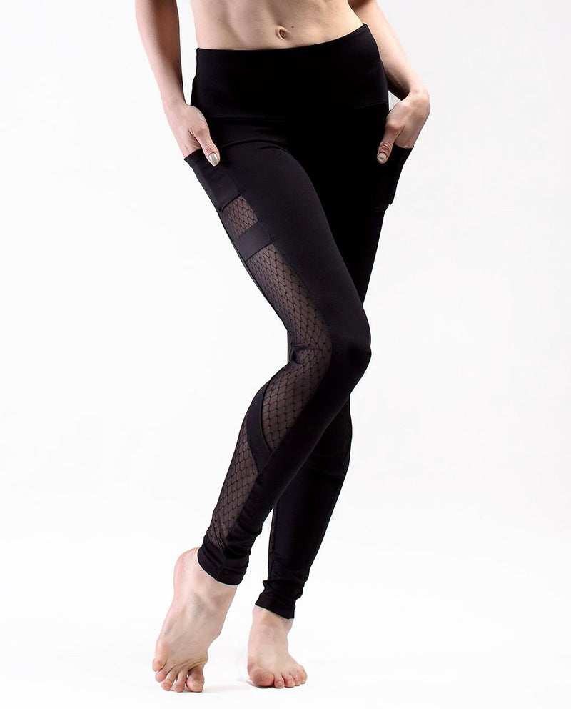 SD Mesh Leggings Black