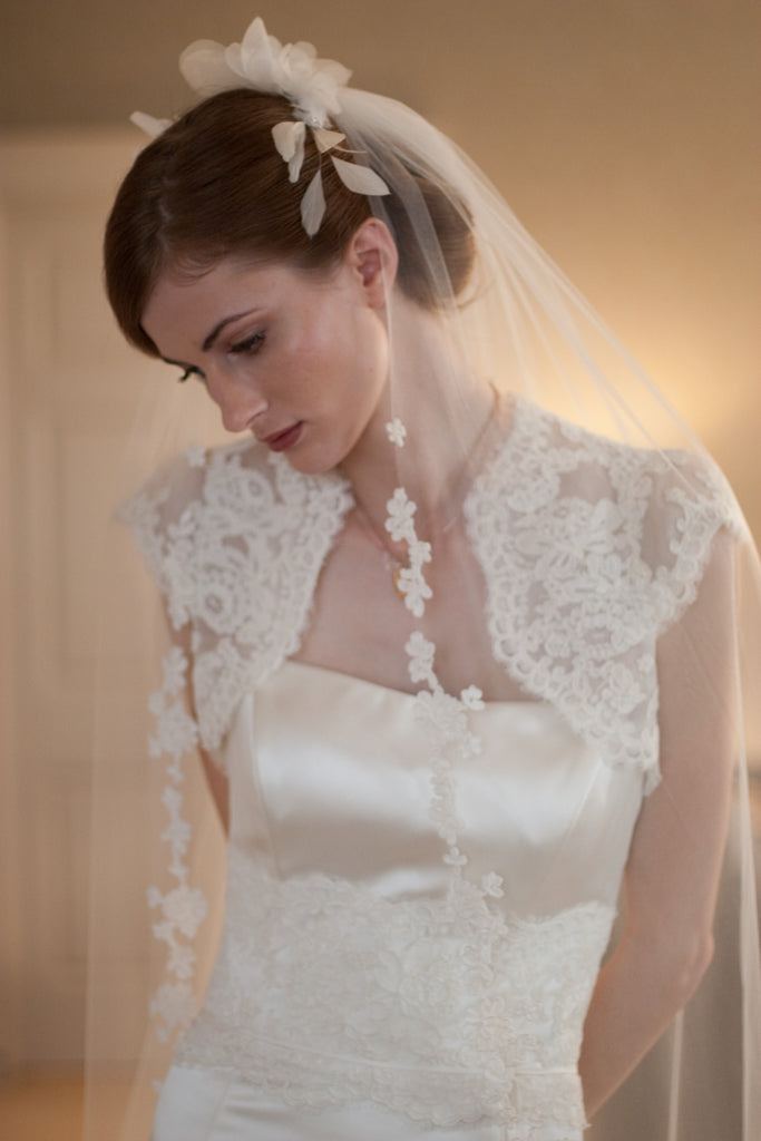 Ashley Gown with Courtney Lace Bolero