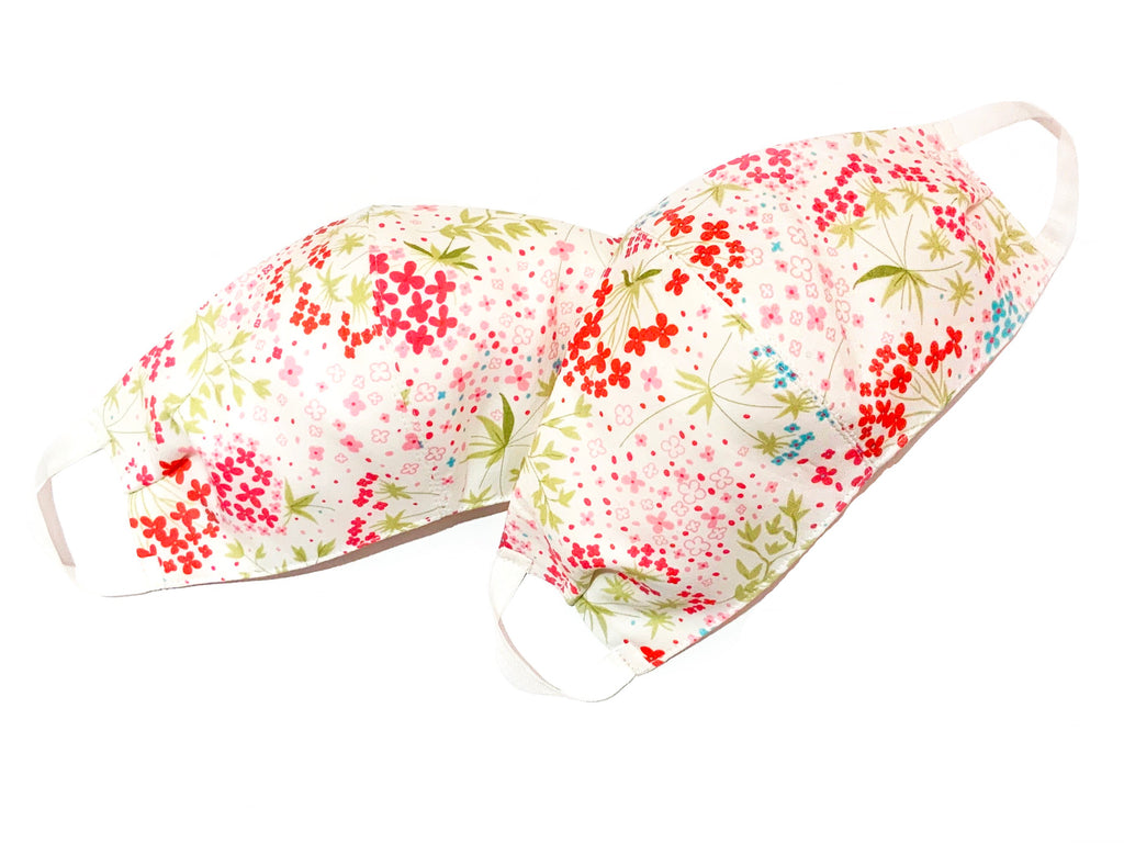 Deluxe Floral Liberty Cotton Mask