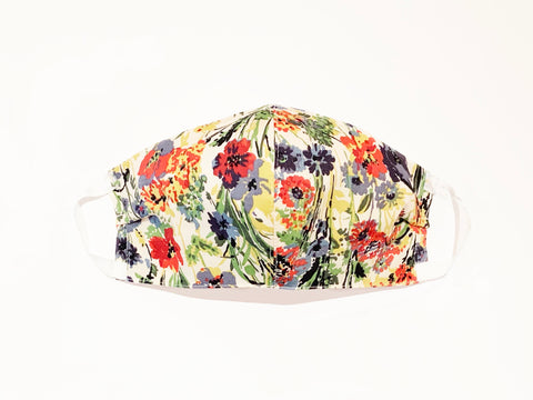 Deluxe Garden Floral Liberty Cotton Mask
