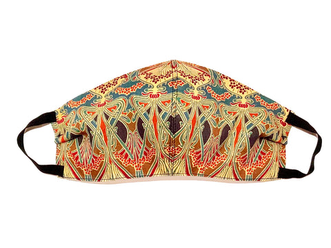 Deluxe Arte Nouveau Liberty Cotton Mask