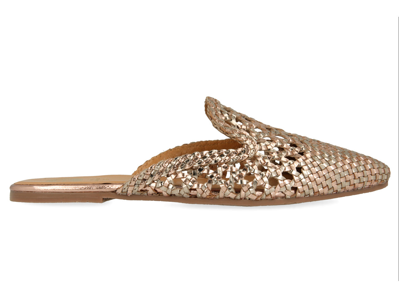Gioseppo Gold Sandals