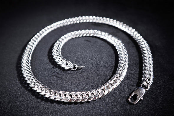 Fishbone Cuban Chain