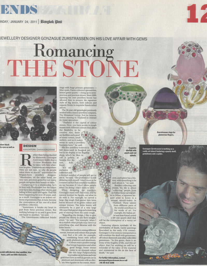Romancing the Stone - Bangkok Post Feature - January 24, 2011