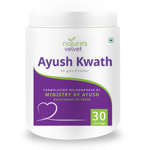 Ayush Kwath Kadha, Immunity booster Powder(Formulation Recommended by Ministry of Ayush, Govt.of INDIA)-90gms
