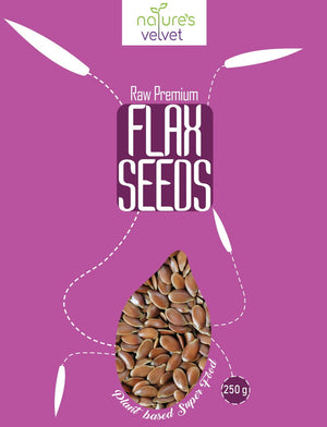 Flax Seeds(Alasi Seeds), Raw and Premium, 250g