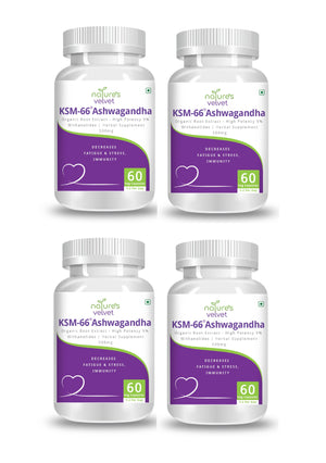 Organic KSM - 66 Ashwagandha - For Stress, Anxiety And Immunity