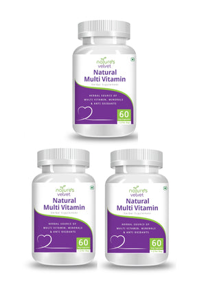 Natural Multivitamins, Minerals and Antioxidants