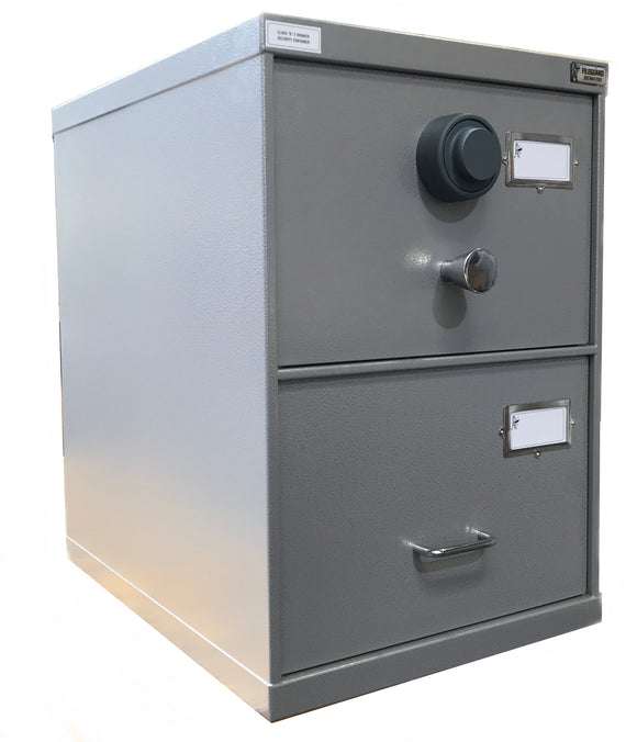 Class B - 2 Drawer - SCEC Approved Security Container