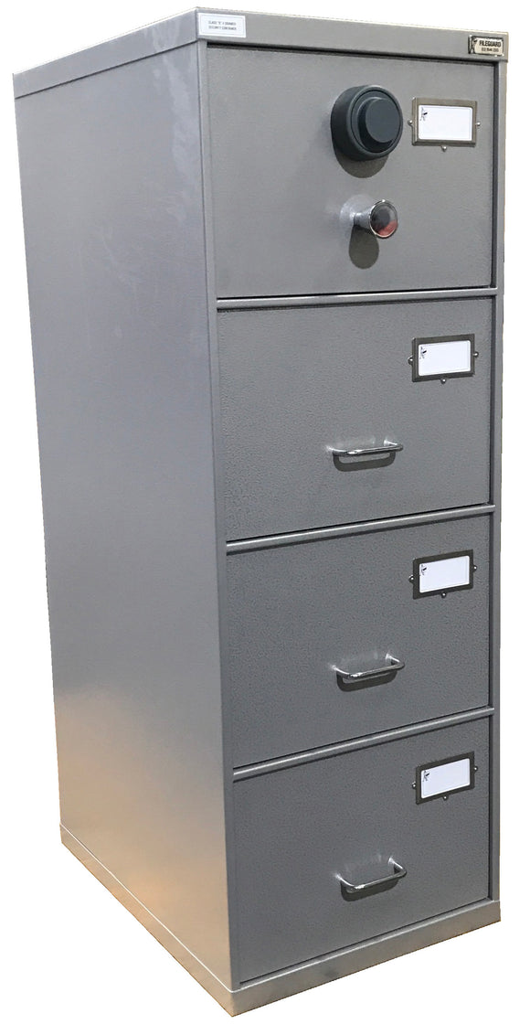 Class B - 4 Drawer - SCEC Approved Security Container